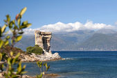 Genoese tower, Corsica — Stock Photo