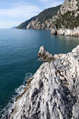 Muzzerone Mountain from Portovenere — Stock Photo