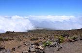 On the summit of Haleakala volcano — Stock Photo
