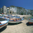Royalty-Free Stock Photo: Italy, Sicily, Cefalu, village, fishing harbor