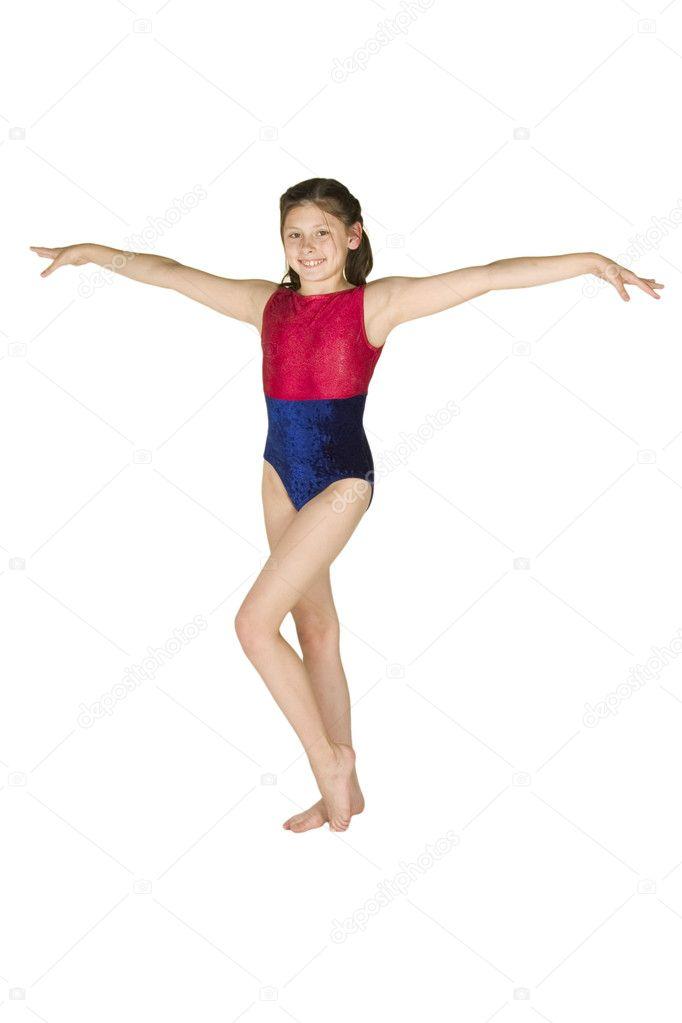 Gymnastics Pose