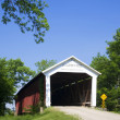 Covered Bridge - Stock Photo