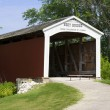 Covered Bridge — Stock Photo