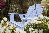 Garden Swing — Stock Photo