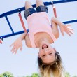 Girl playing in park — Stock Photo #9027292