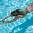 Royalty-Free Stock Photo: Swimming