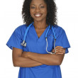 African American Doctor — Stock Photo #9149661