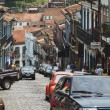 Street in Ouro Preto, Brazil - Stock Photo