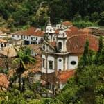 Igreja Nossa Senhora do Rosario dos Pretos — Stock Photo