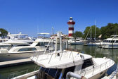Harbor Town Lighthouse — Stockfoto