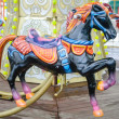 Stock Photo: Carousel in park of Brest