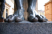 Atlantes feet. — Stock Photo