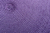 Close-up of purple synthetic fabric. — Stock Photo