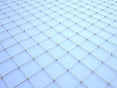 3D wire pattern. — Stock Photo