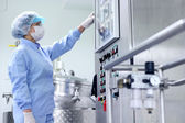 Pharmaceutical Manufacturing — Stock Photo