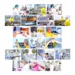 Pharmaceutical Industry Collage — Stock Photo #9296339