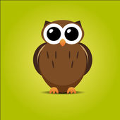 Cute Owl — Stock Vector