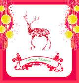 Reindeer design — Stock Vector