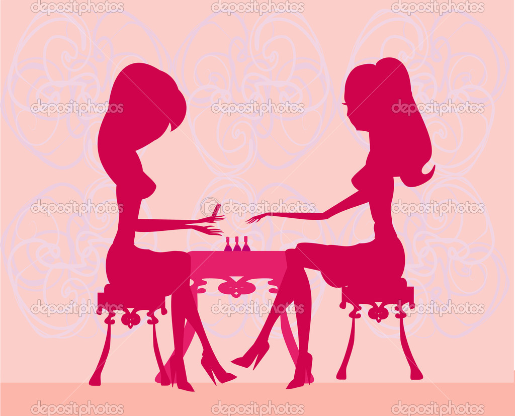 Young lady doing manicure in beauty salon stock photo for Aaina beauty salon electronic city