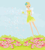 Beautiful fairy vector graphic — Stock Photo