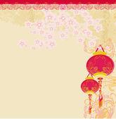 Chinese New Year card — Stock Photo