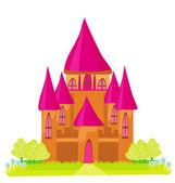 Fiaba magica principessa castello — Foto Stock