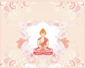 Chinese Traditional Artistic Buddhism Pattern — Stock Photo