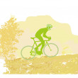 Cycling Poster - Foto Stock