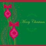 Christmas Framework style card — Stock Photo