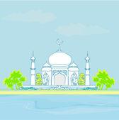 Ramadan kareem card — Stock Photo