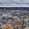 Panorama of stuttgart city in germany — Stock Photo #10368927