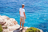 Mediterranean sea landscape balearic island mallorca — Stock Photo
