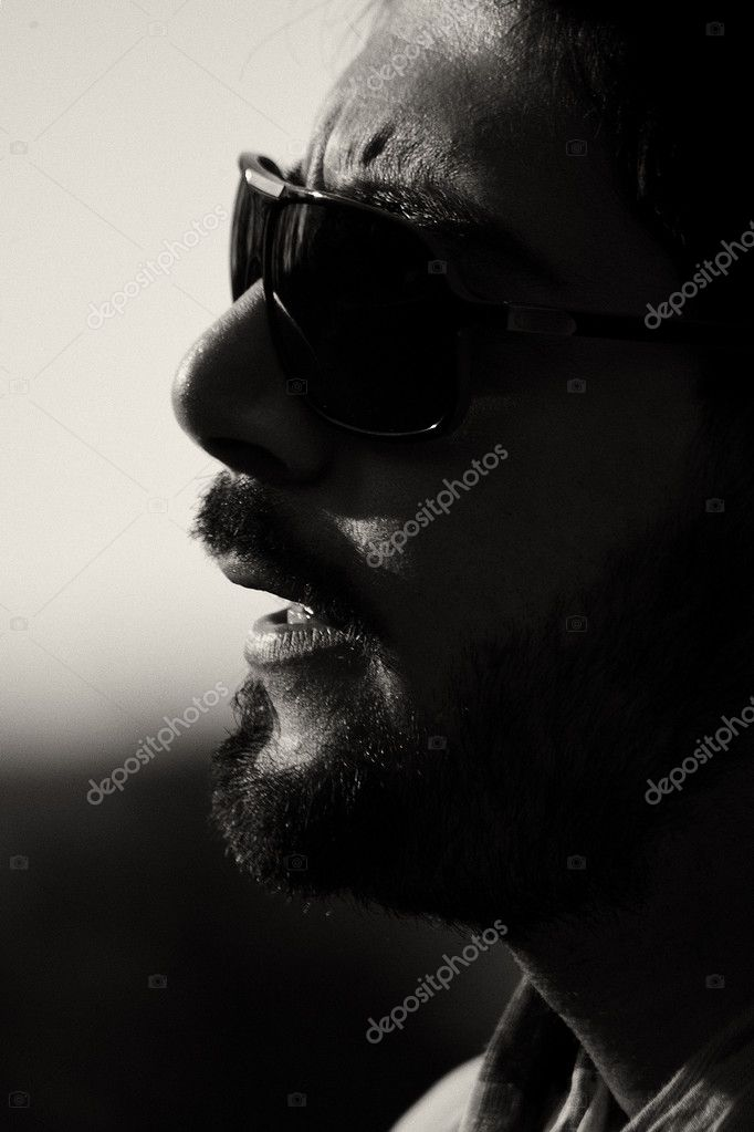 Young trendy man with fashio portrait — Stock Photo #9914777