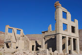 Ryolite ghost town — Stock Photo