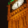 Stock Photo: Big Ben lit up at night in London