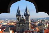 The centre of Prague — Stock Photo
