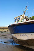 Small fishing vessel in Cornwall, England — Stock Photo