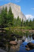 El Capitan in Yosemite National Park, California — Stock Photo