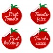 Tomato label - Stock Vector