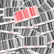 Barcode background for sale — Stock Vector