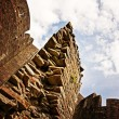 Jagged Castle Wall — Stock Photo #10026848