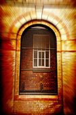 Victorian Building Gate — Stock Photo