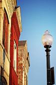 Residential Lamp — Stock Photo