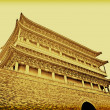 Tiananmen Temple Vintage Image — Stock Photo #9564525