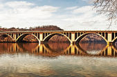 Rustic Chesapeake Bridge — Stock Photo