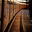 Train At Station Platform — Stock Photo #9716154