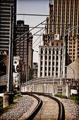 Southern City Railroad — Stock Photo