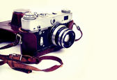 Old FED camera. — Stock Photo