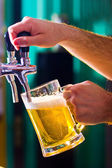 Draught beer — Stock Photo