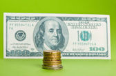 US currency — Stock Photo